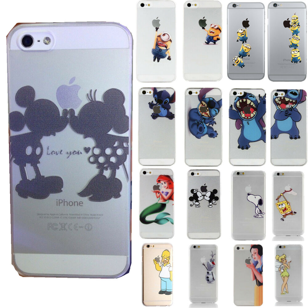 Cartoon Characters Iphone 6 Cases : Princess cartoon disney all characters case cover for