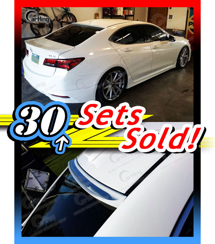 Acura Tl Rear Window Roof Spoiler 700814234898 Vehicles: NEW Painted B Style Rear Roof Window Sport Spoiler For