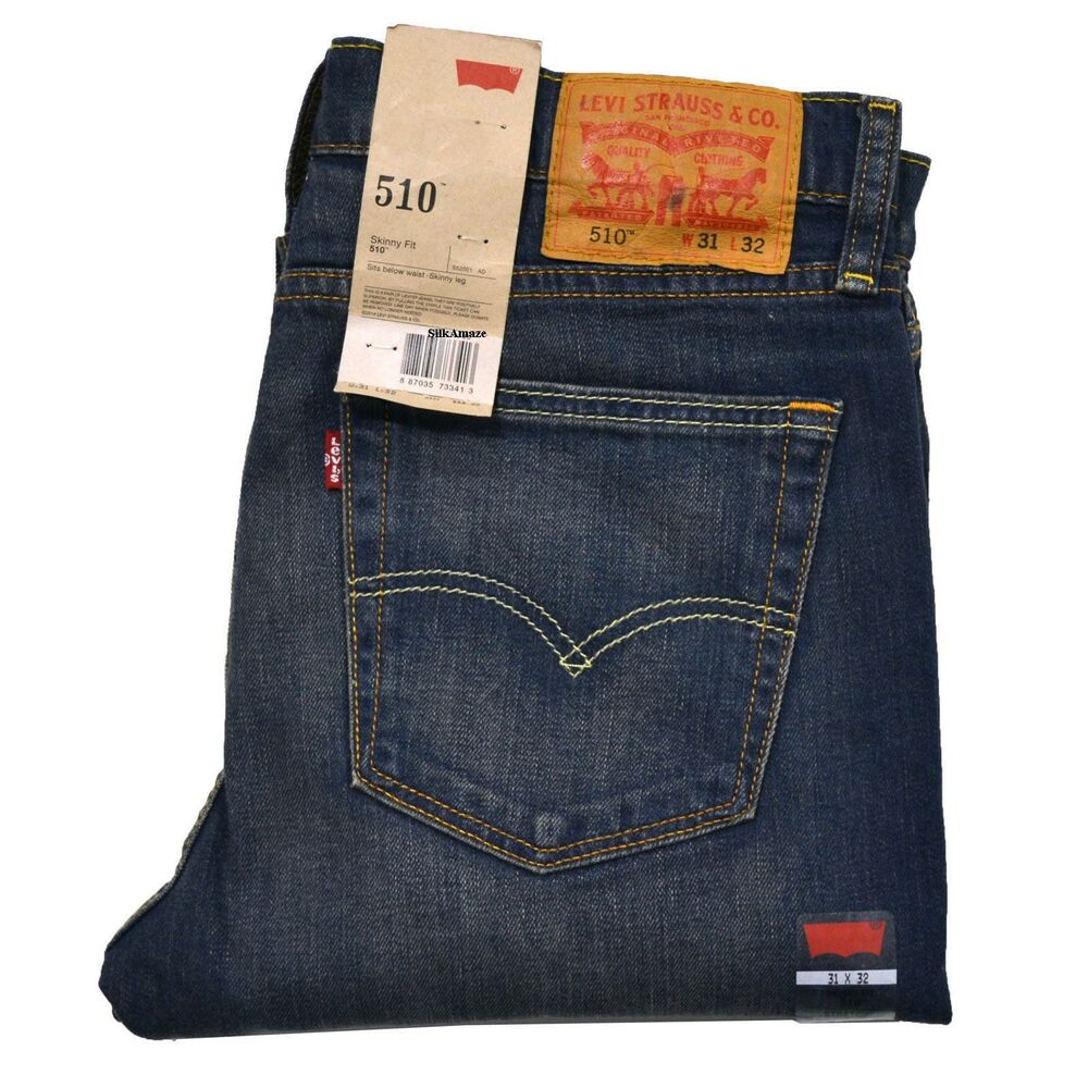 Levi's 510 Men's Skinny Jeans(Levis 510 authentic, brand ...