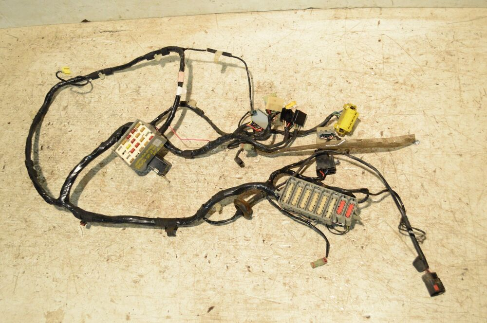 jeep tj wiring harness jeep tj wiring diagram 02 jeep wrangler tj under dash fuse box wire harness early ... #10