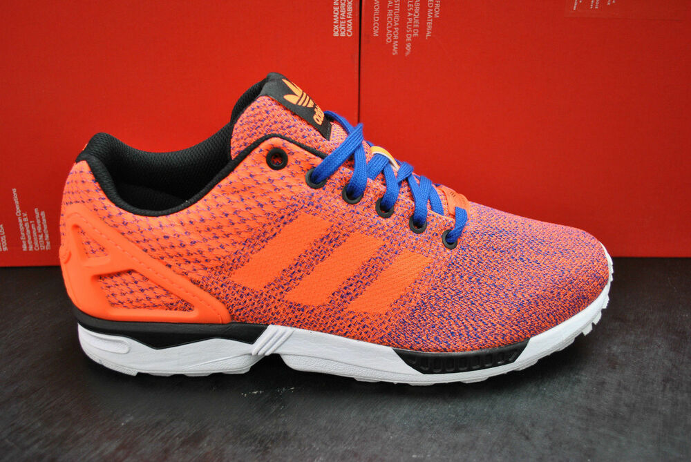 Adidas Zx Flux Weave Orange