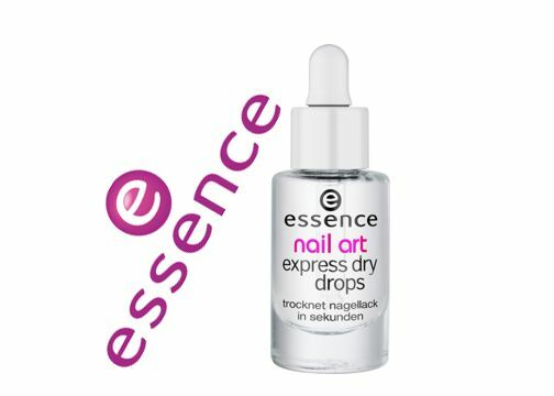 Essence Nail Art Express Dry Drops With Vitamin E And Almond For