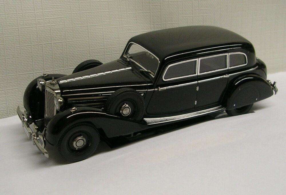 1938 Mercedes Benz 770K Sedan Black 1:43 Die-Cast