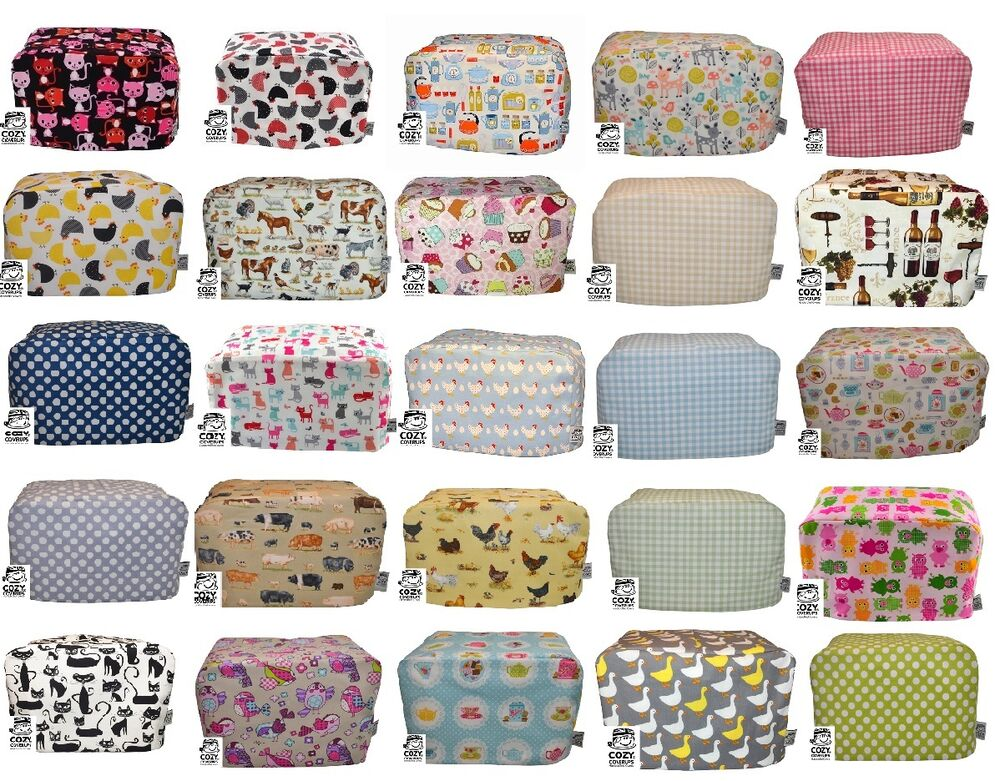 Cozycoverup 174 For 2 4 And Dualit Toaster Dust Cover