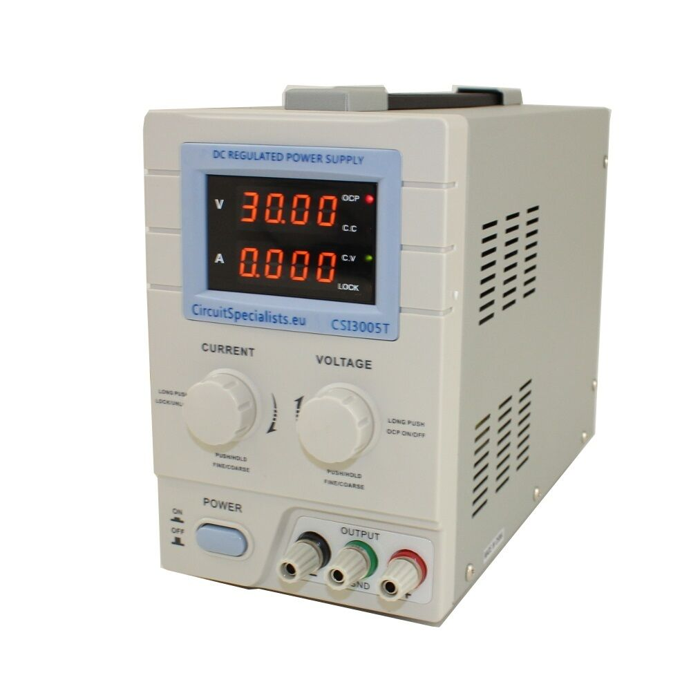 adjustable dc linear bench power supply 4 digit display 0
