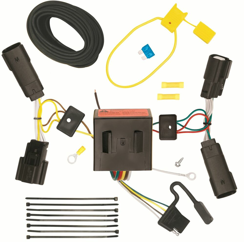 ford trailer plug harness 2013-2016 ford escape trailer hitch wiring kit harness ... ford trailer wiring harness kit #12