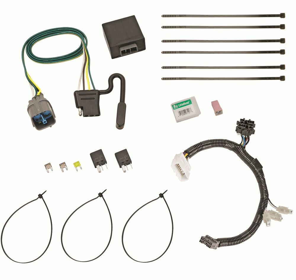 Trailer Wiring Harness Kit Honda Pilot Books Of Diagram 2012 2015 Hitch 2011