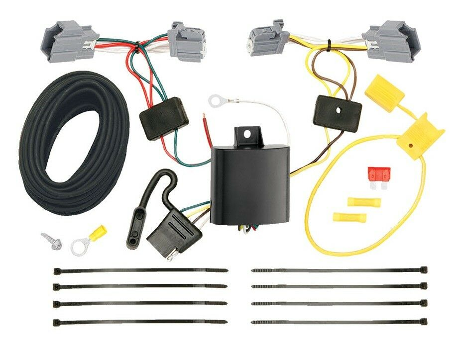 ford focus trailer hitch wiring kit harness plug