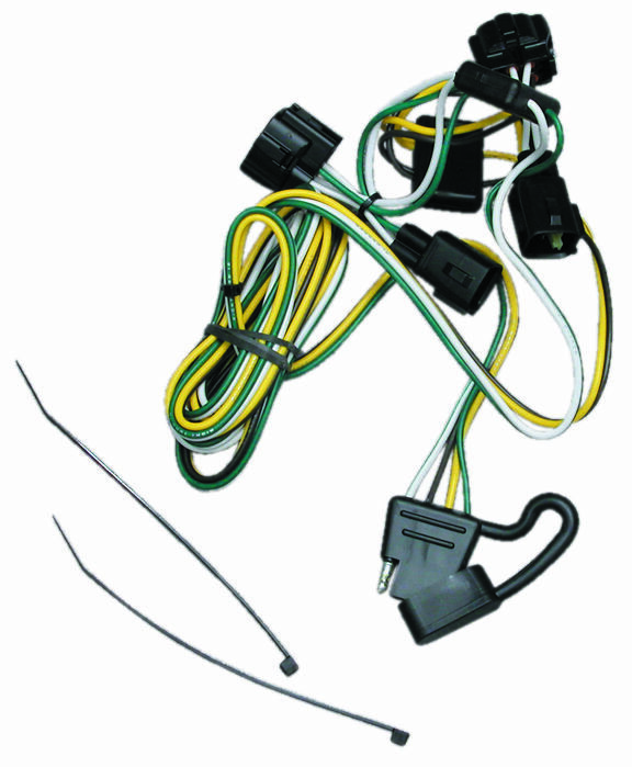 1995-2001 dodge ram 1500 4000 trailer hitch wiring kit ... dodge trailer wiring