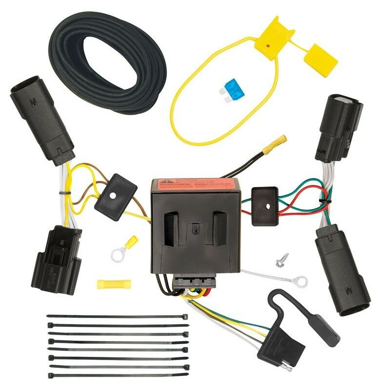 ford f 150 trailer plug wiring diagram 2011-2014 ford edge trailer hitch wiring kit harness plug ... ford trailer plug wiring