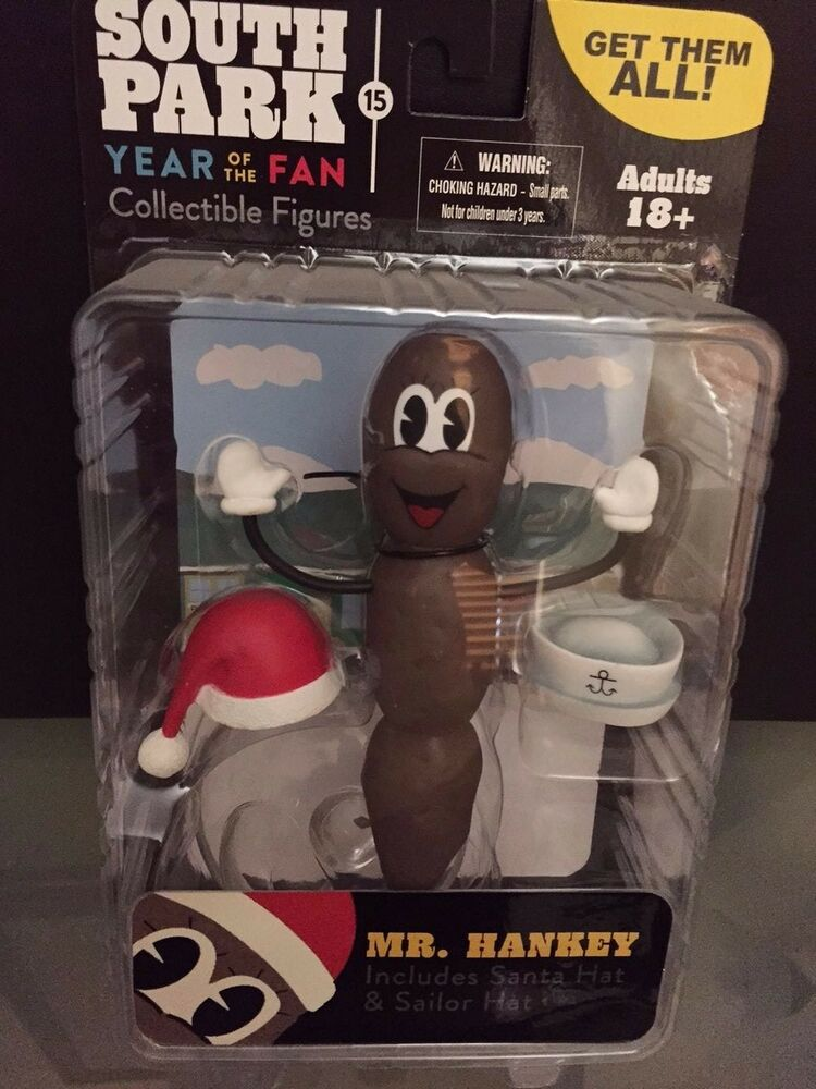 mr hankey south park year of the fan collectors edition ebay. Black Bedroom Furniture Sets. Home Design Ideas