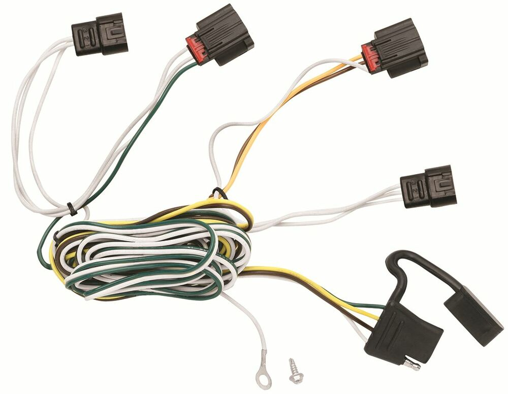 Trailer Wiring Harness Kit For 2010 Dodge Journey All Styles Plug  U0026 Play T
