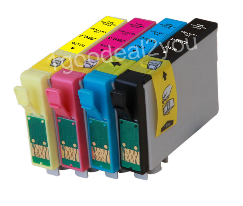 4PK T220XL Compatible Ink Cartridges For Epson WF2630