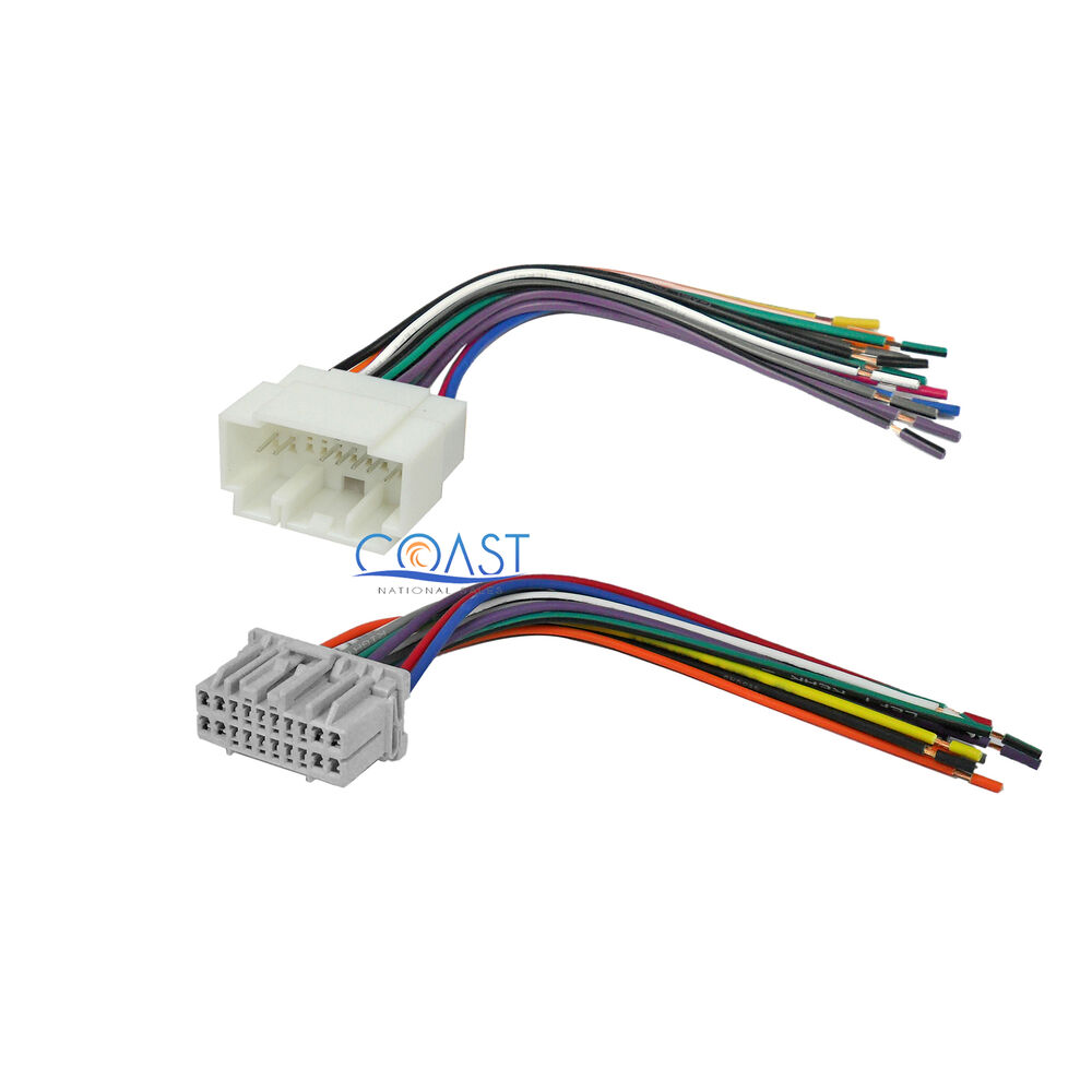 car stereo installation wire wiring harness set for 1998 honda crv radio wiring diagram honda radio wiring harness