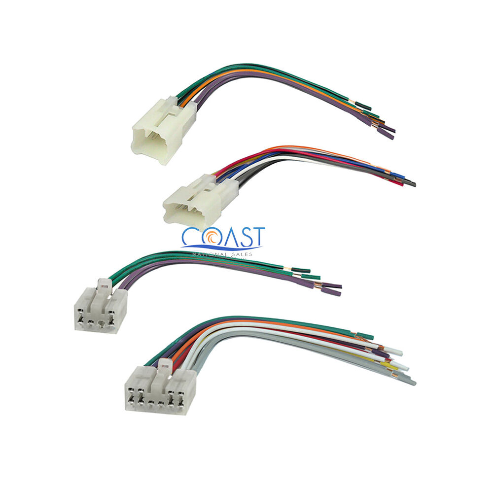 Kenwood Dvd Wiring Electrical Diagram 617 Harness Car Stereo Radio Wire Set For 1987 2007 Kvt 617dvd Rj Plug Tk 7360