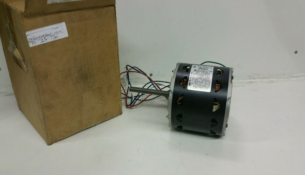 Ao smith f48r16c04 electric blower motor 1 2hp 1075rpm for 1 5 hp 120v electric motor