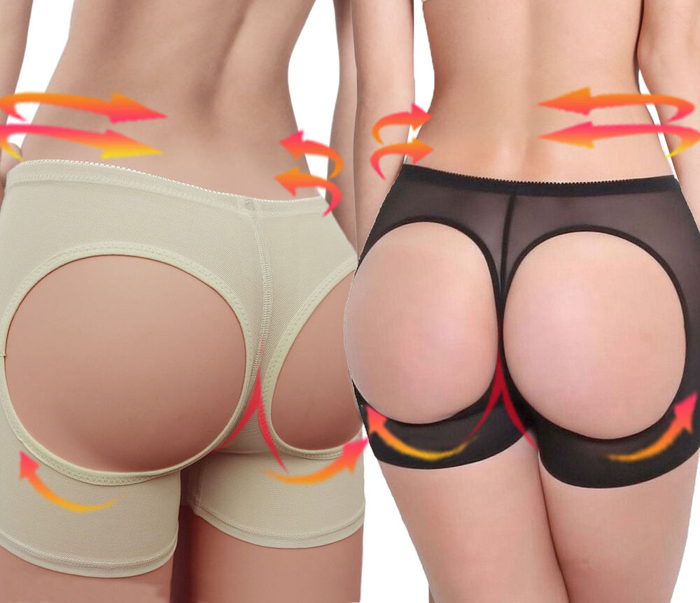 09c0cd5281600 Details about Women Butt Lifter Shaper Bum Lift Pants Buttocks Enhancer  Boyshorts Booty Briefs