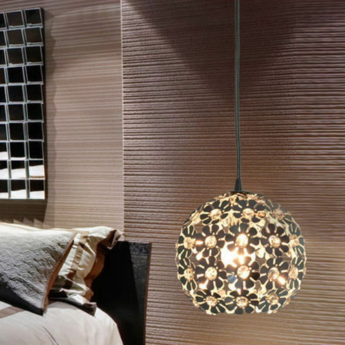 Hanging Light Round: Modern Round Chandelier Ceiling Pendant Fixtures Light
