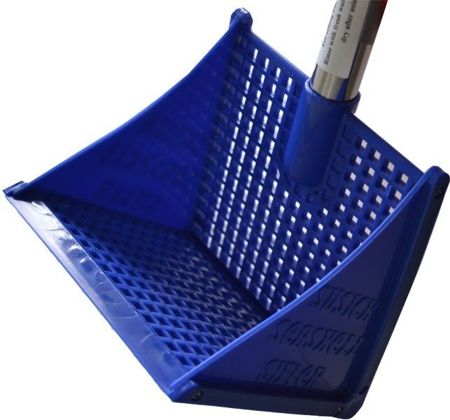 Beach Shell Sifter Scoop Rake With Mesh Bag 854979001076