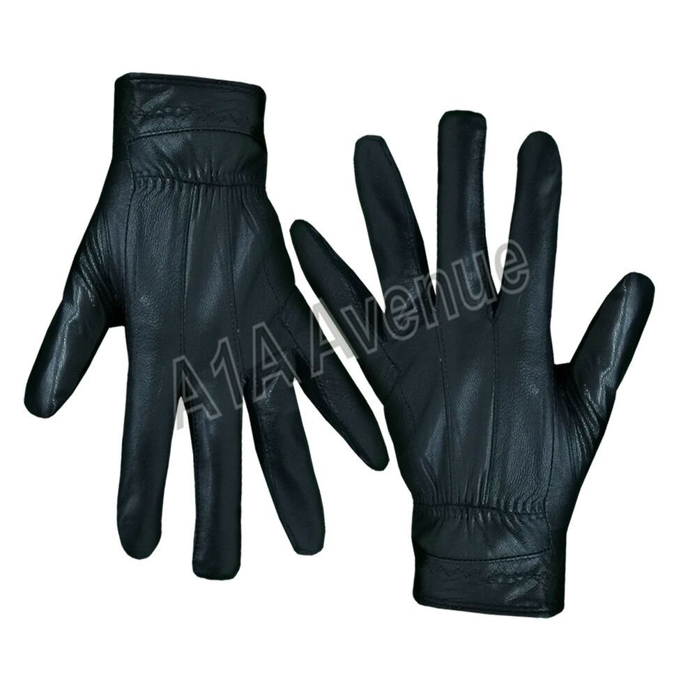 WOMEN'S LADIES THINSULATE LEATHER GLOVES SOFT FLEECE LINED