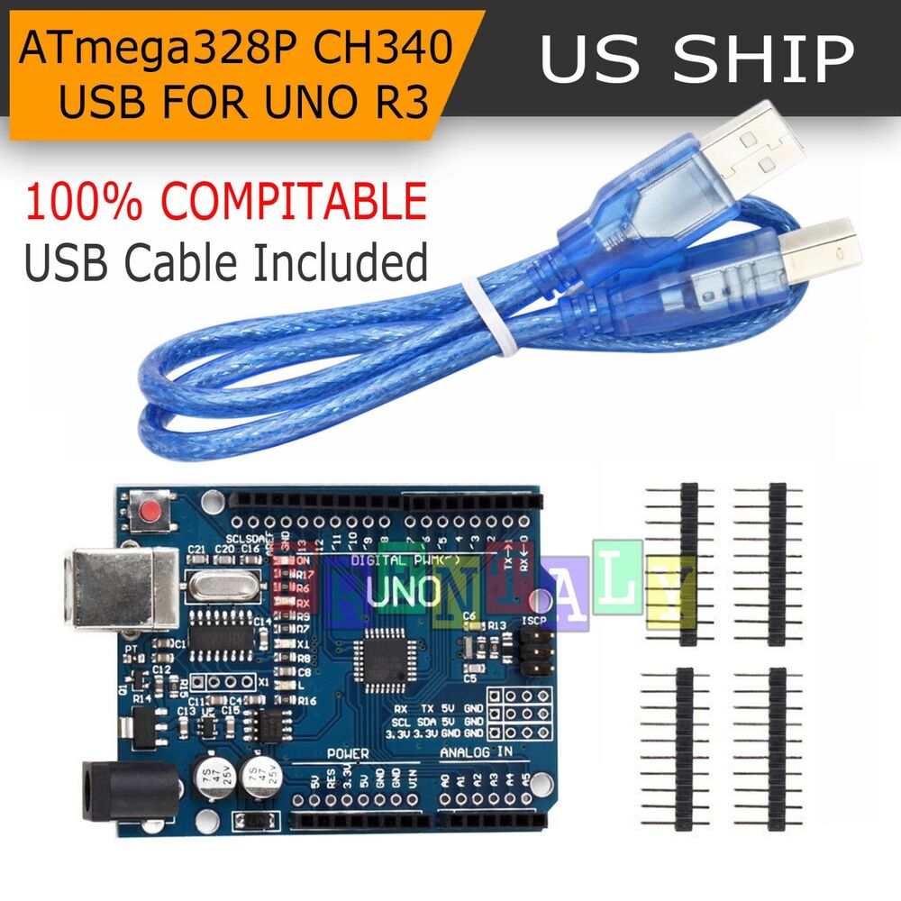 Uno r atmega p ch usb board for compatible arduino