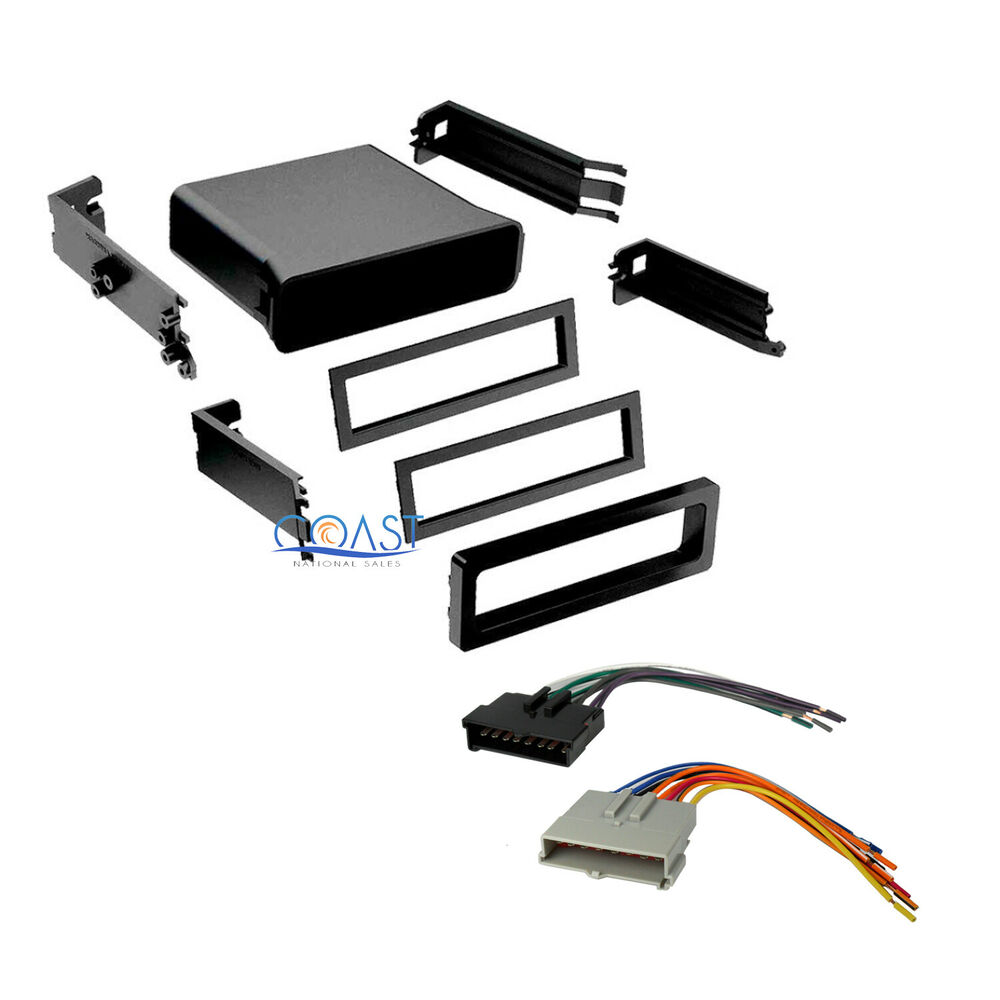 Universal Wiring Harness Truck Diagram Will Be A Thing Car Radio Stereo Pocket Dash Kit For Ford Delphi Dea 500 Adapter