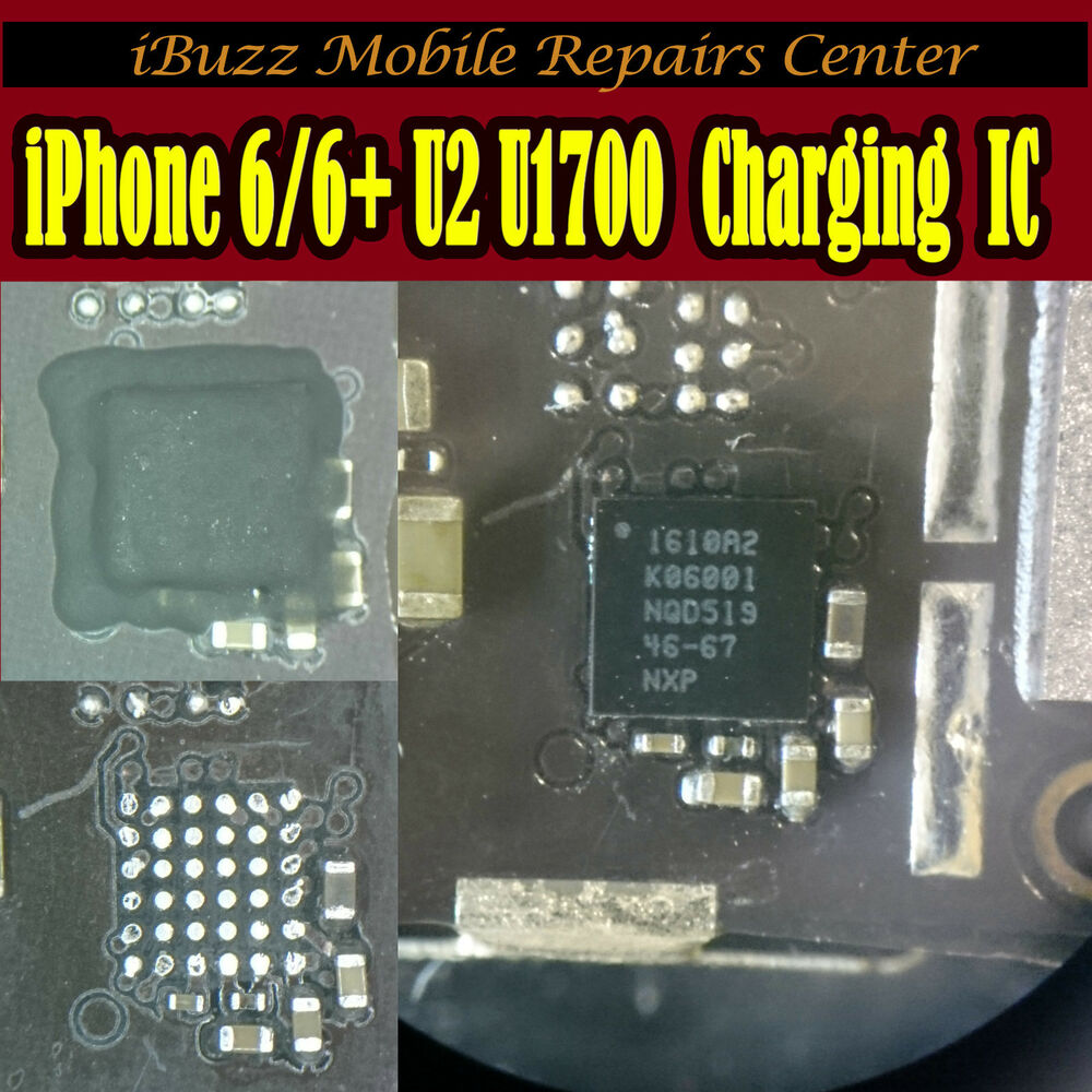 iphone 6 not charging iphone 6 6 plus usb not charging u2 u1700 ic chip repair 1483
