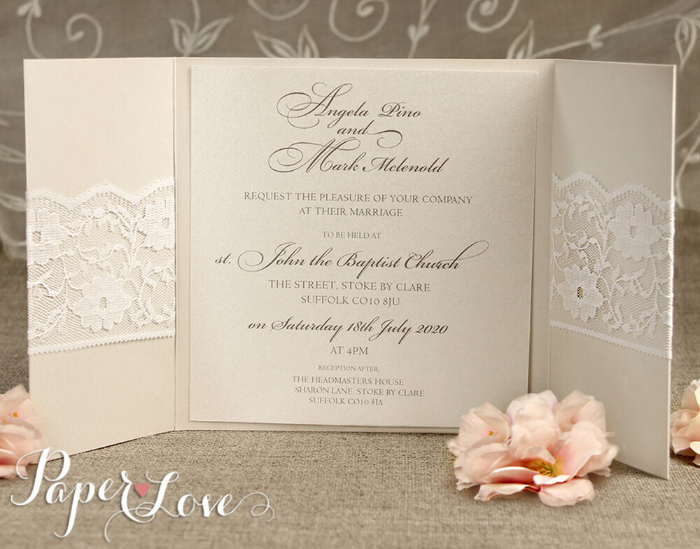 Wedding Invitations Handmade: Personalised Wedding Invitations & Evening Invites