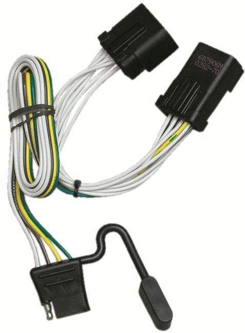 2000-2008 dodge pickup ram 1500 trailer hitch wiring kit ... dodge trailer wiring