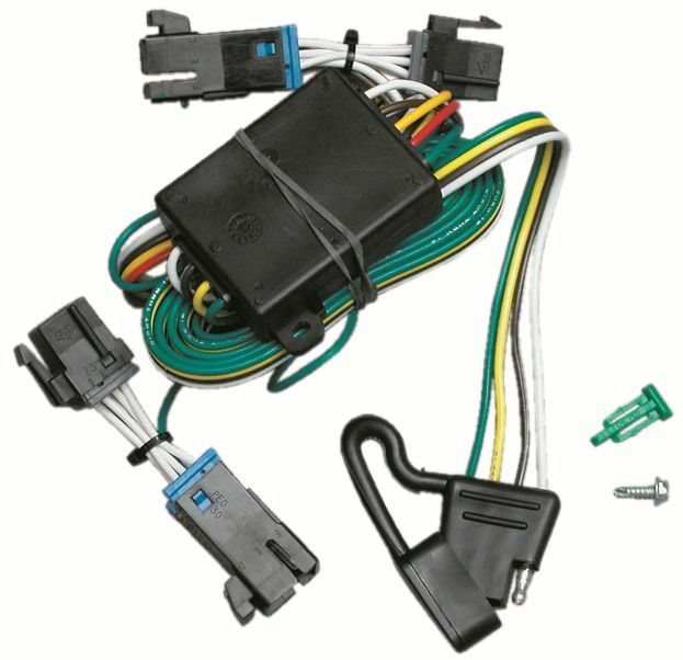 trailer wiring harness kit for 00 02 chevy express gmc. Black Bedroom Furniture Sets. Home Design Ideas