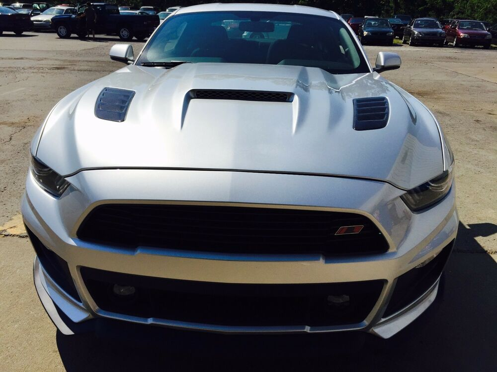 2015 2016 2017 Ford Mustang Mongoose Heat Extracting Hood ...