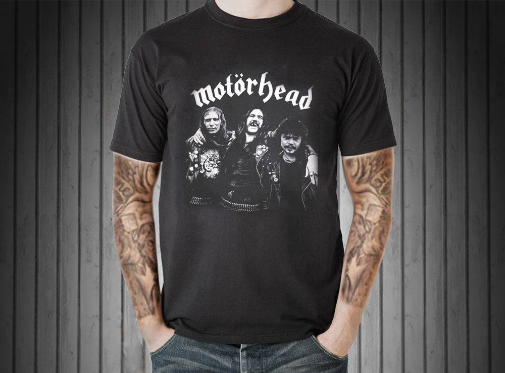 mot rhead motorhead t shirt vtg retro style men uk hard. Black Bedroom Furniture Sets. Home Design Ideas