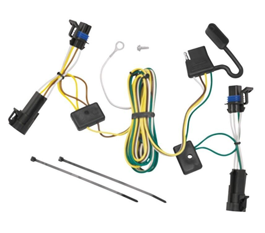 chevy truck trailer plug wiring chevy trailer plug wiring 2004-2008 chevy malibu trailer hitch wiring kit harness ...