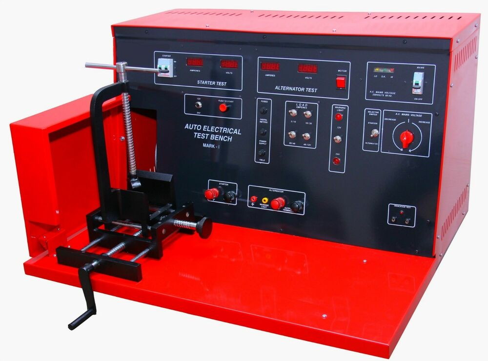 Auto Gauge For Sale Philippines: Auto Electrical Test Bench / Alternator / Starter Test