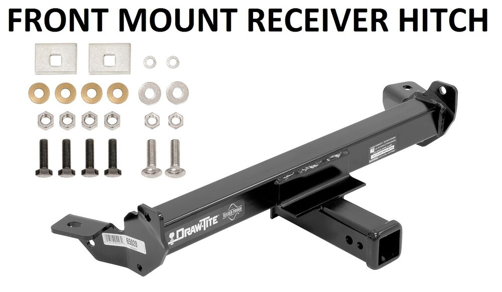 2001 2007 chevy silverado 1500 hd trailer hitch front mount 2 tow receiver new ebay. Black Bedroom Furniture Sets. Home Design Ideas