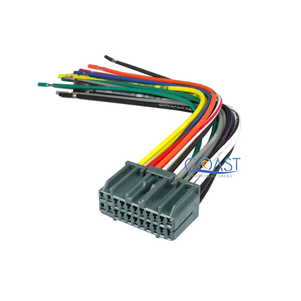 car stereo radio wiring harness plugs to factory car wiring car stereo radio wiring harness plugs to factory car wiring diagrams