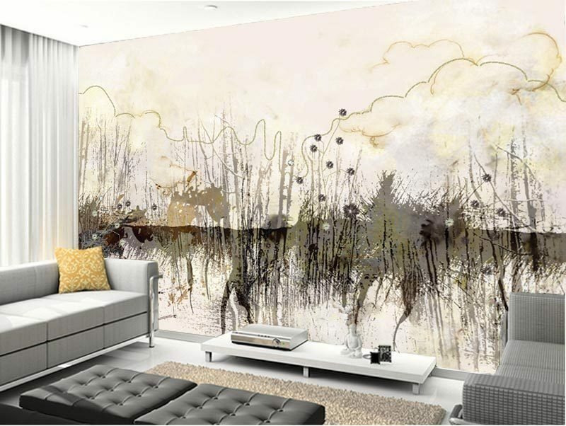 3d land nature paint full wall mural photo wallpaper print for Home wallpaper ebay