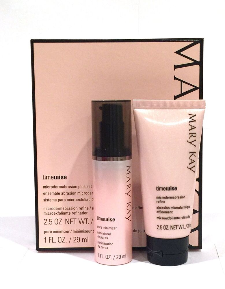 Mary Kay Anti Aging: MARY KAY TIMEWISE MICRODERMABRASION PLUS SET~NIB~PORE