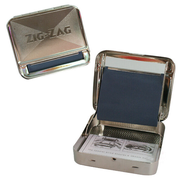 Zig Zag 70mm Metal Automatic Tobacco Roller Box Cigarette