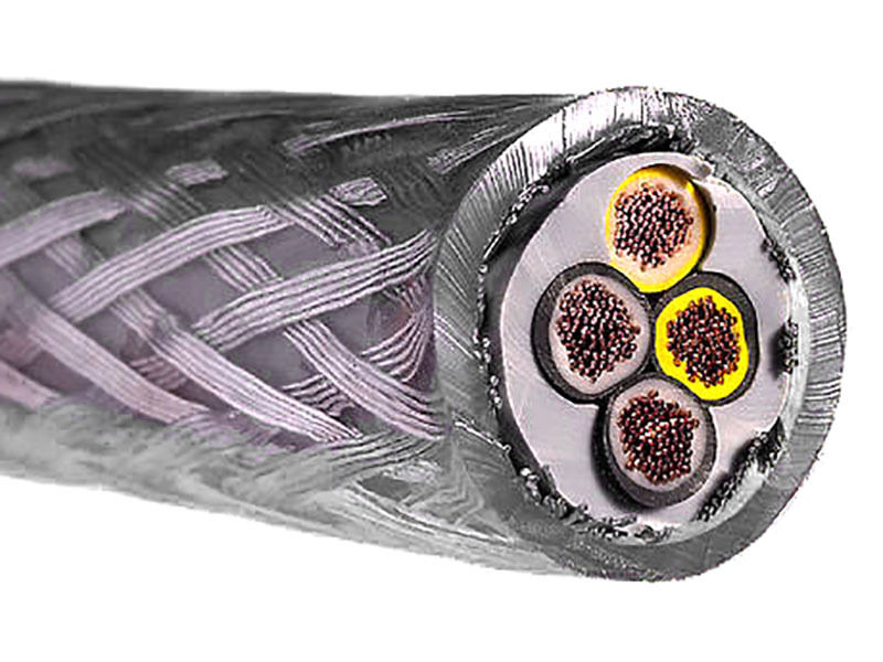Flexible Armored Cable : Price per metre flexible sy braided armoured cable
