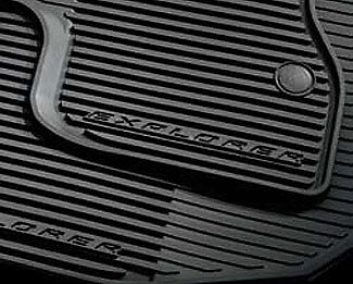 Oem 2016 Ford Explorer All Weather Mats 4 Pc Set Black