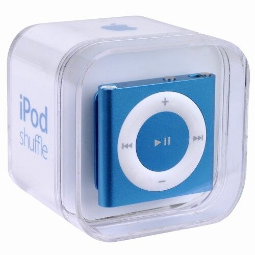 apple ipod shuffle 4th generation blue 2 gb 885909612161. Black Bedroom Furniture Sets. Home Design Ideas