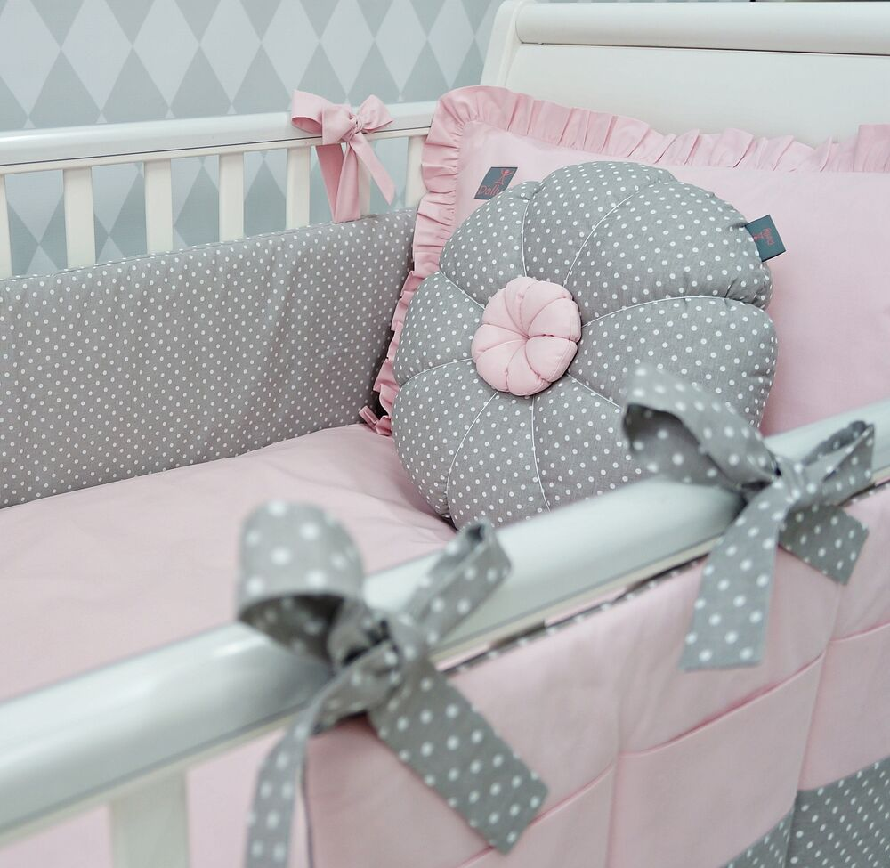 New Exclusive Amp Luxury Baby Girl Cot Bed Bedding Set