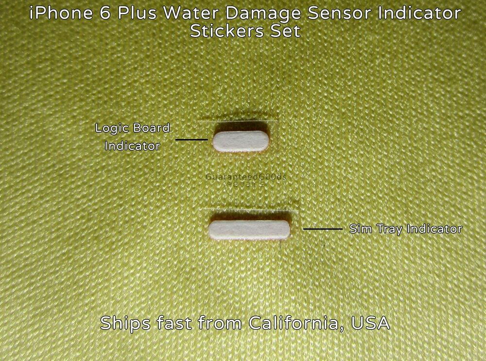 iphone water damage indicator iphone 6 plus water damage sensor indicator set logic 1968