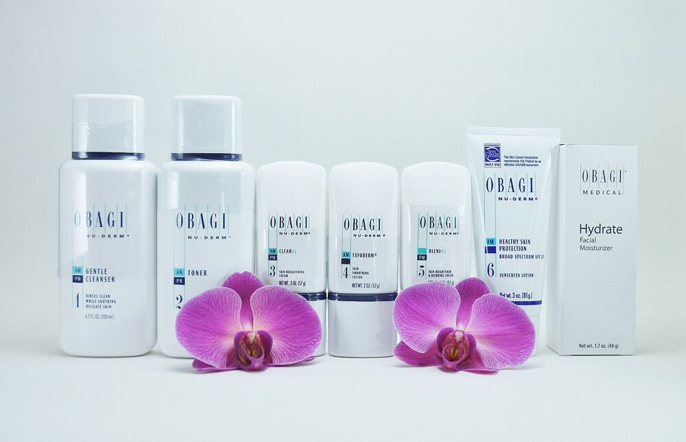 Obagi Nu Derm Fx System Kit Of 7 Items For Normal To Dry