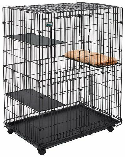 Midwest Homes For Pets Cat Cage Playpen