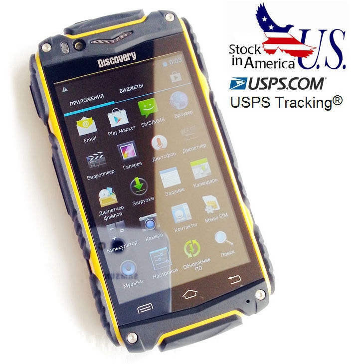 4 Quot Discovery V8 Smartphone Rugged Android 4 2 Mobile Phone