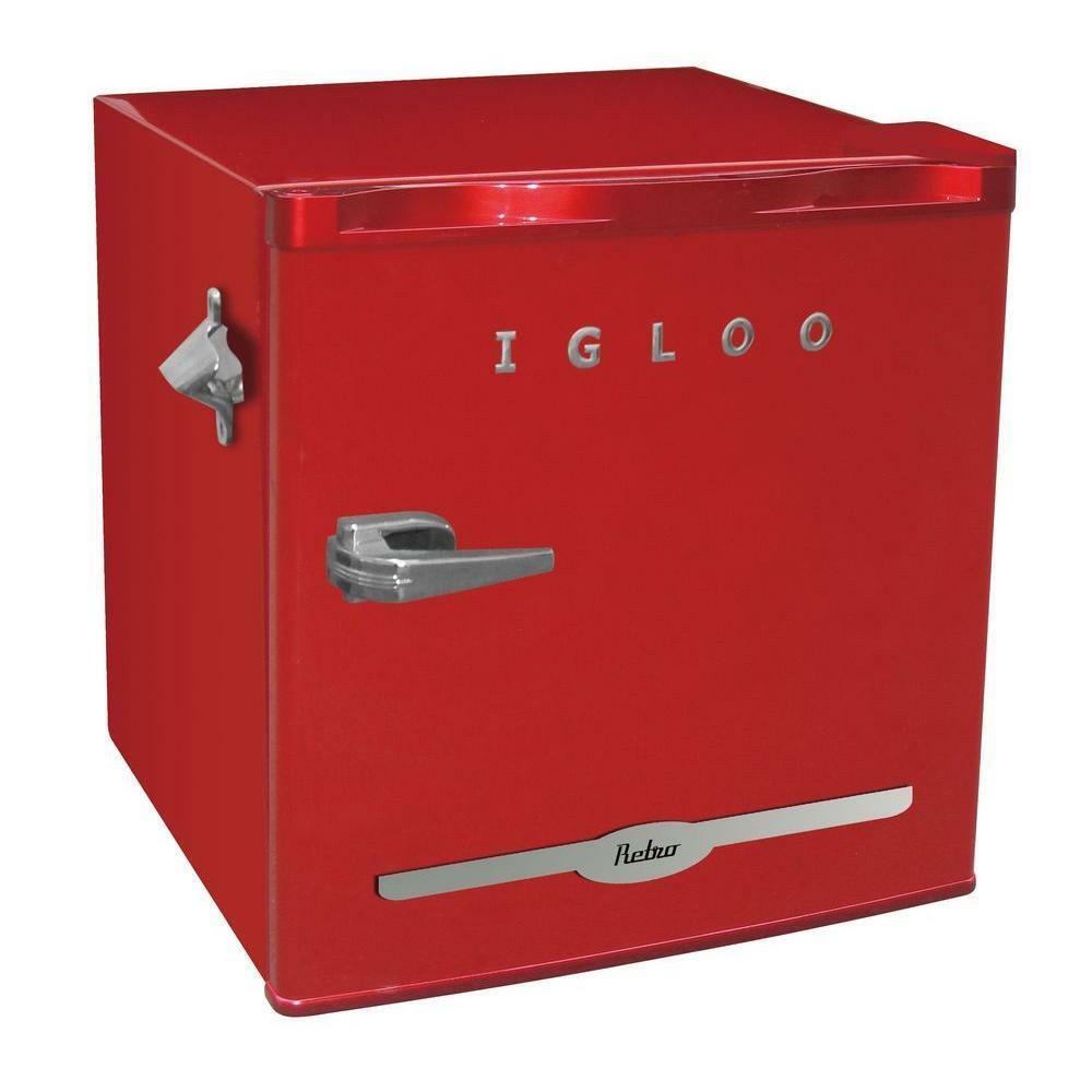Vintage Fridge: Igloo Vintage Retro Mini Refrigerator Fridge Compact W