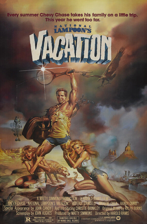 NATIONAL LAMPOON'S VACATION Movie Poster [Licensed-NEW-USA