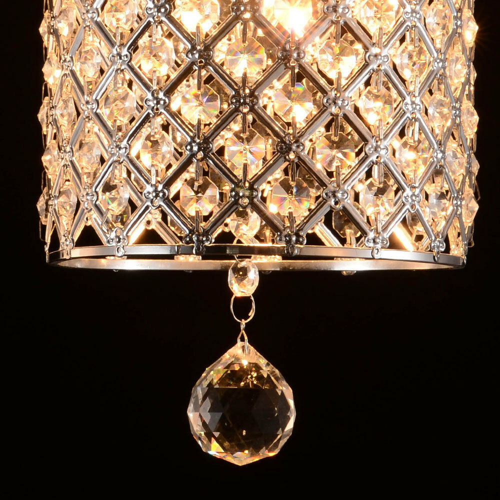 2016 Modern Round Crystal Chandelier Ceiling Light Pendant